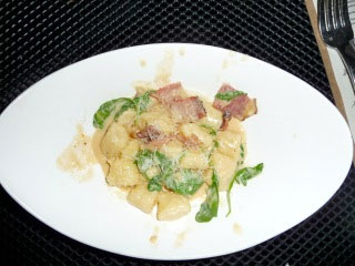 Gnocchi made with Ricotta Cheese