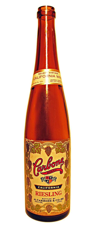 Carbone Wine 24-Oz. Riesling Bottle